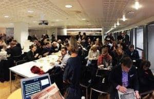 Google-frokost-seminar-mediebransjen-kaos