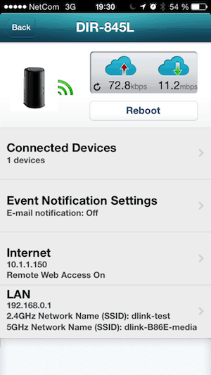 mydlink-iphone-hanspetter