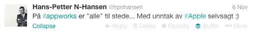Tweet-hpnhansen-appworks