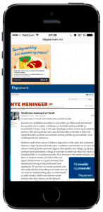 dagsavisen-stoltenberg-iphone