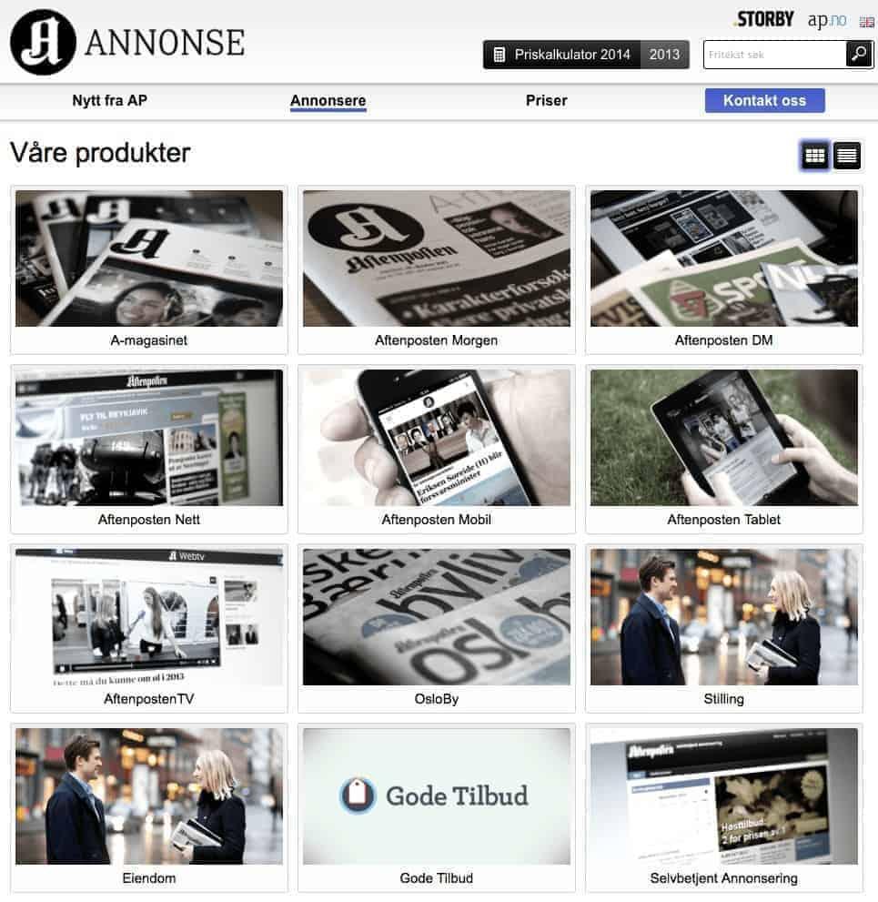 aftenposten-annonse-oversikt