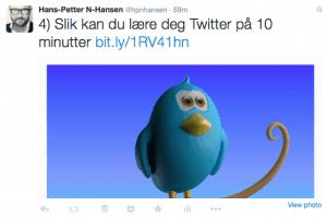 Twitter-10-minutter-hanspetter