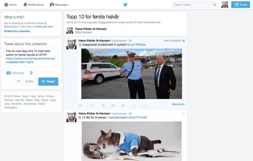 Twitter-samling-oversikt
