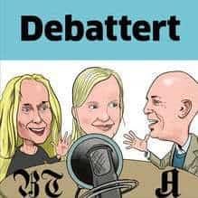 Debattert