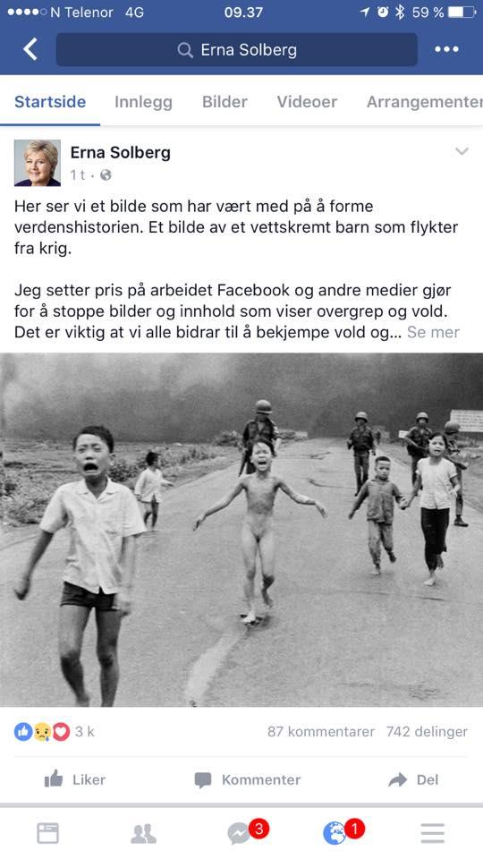 facebook-erna-solberg