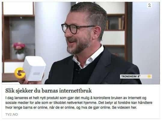 * Mandag 10. oktober var jeg på besøk hos TV 2 God Morgen Norge for å snakke om Circle. Klikk på bildet for å se klippet.
