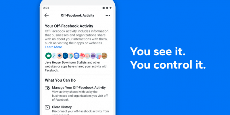 off-facebook activity